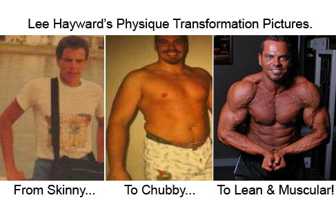 Lee Hayward's Physique Transformation Pictures
