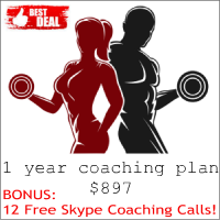 1 Year Coaching Plan for $897