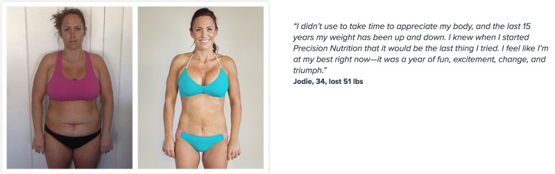 Jodie lost 51 pounds