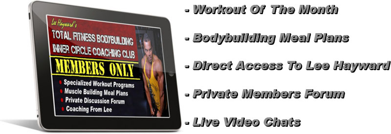 Free Membership To The Total Fitness Bodybuilding Inner Circle Coaching Club