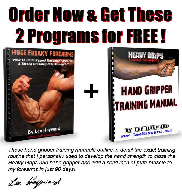 FREE Hand Gripper Training Programs