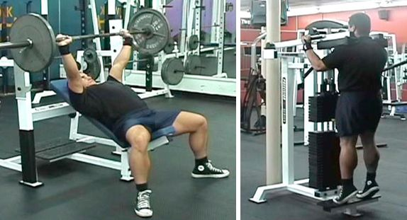 Staggered Super Sets
