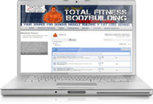 Total Fitness Bodybuilding Members Site