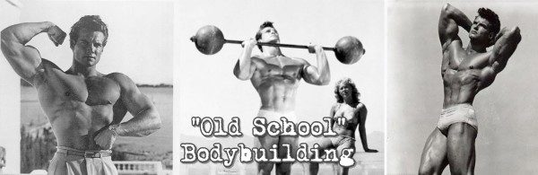 Steeve Reeves Old School Bodybuilding Workout Lee