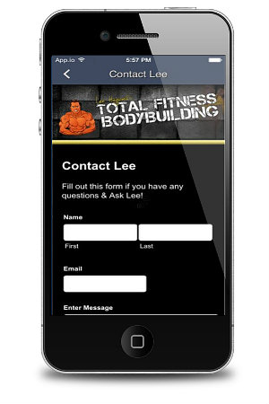Total Fitness Bodybuilding App Ask Lee