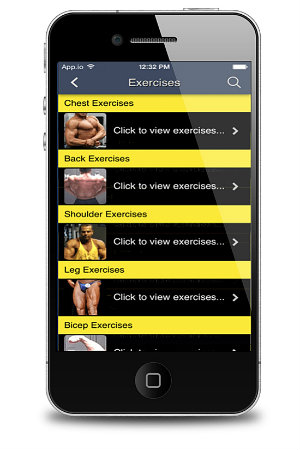 Total Fitness Bodybuilding App Exercise Database