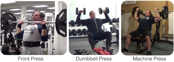 Shoulder Press Variations