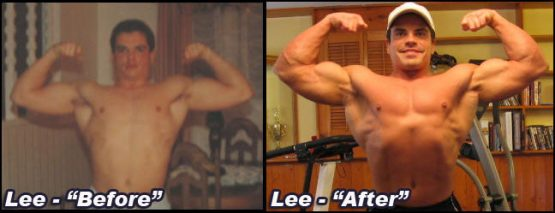 Lee Hayward's Before & After Bulk Up Transformation