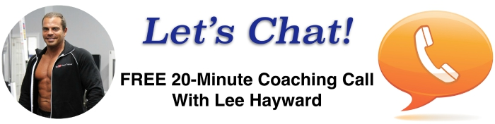 Free Bodybuilding Coaching Call with Lee Hayward