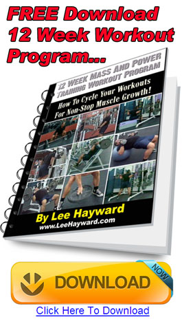 chest shoulders triceps workout lee hayward s total fitness