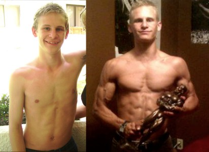 Brent Went From Skinny To Jacked
