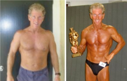 George Won His First Bodybuilding Competition