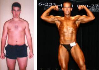 Adam Hunt Lost Fat While Gaining Muscle