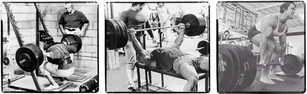 The 3 Powerlifts Squat, Bench, Deadlift