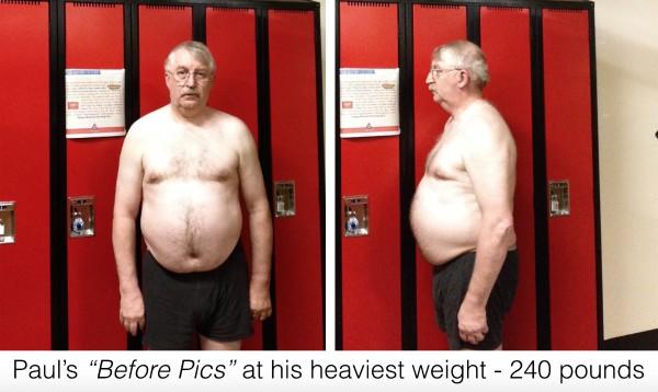 Paul's Before Pictures