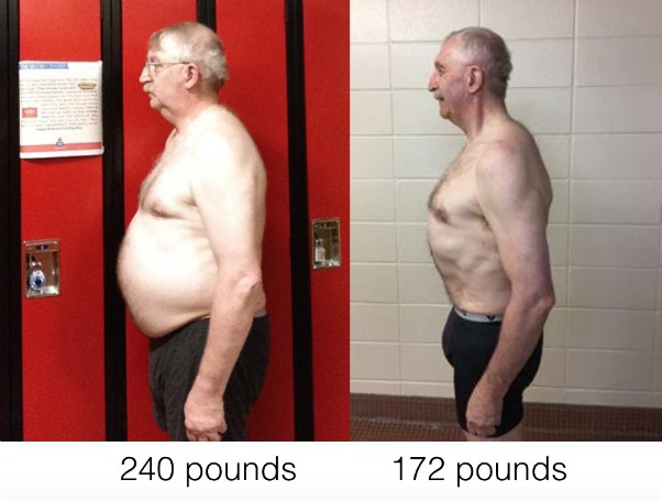 Paul's - Before & After - Man Over 60 Transformation