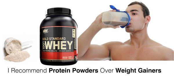 Protein Powder vs Weight Gainer