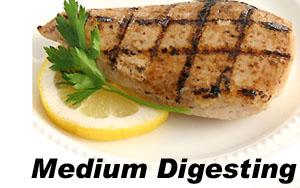 Grilled Chicken - medium digesting protein
