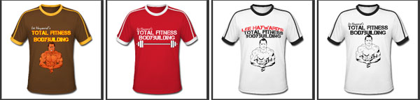 Total Fitness Bodybuilding T-Shirts