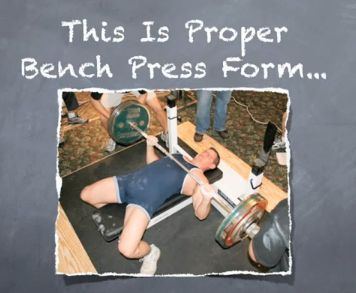 Correct Bench Press Form