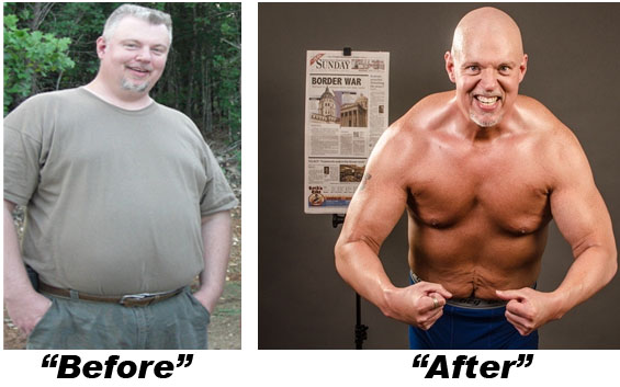 Bill Moore's Physique Transformation!