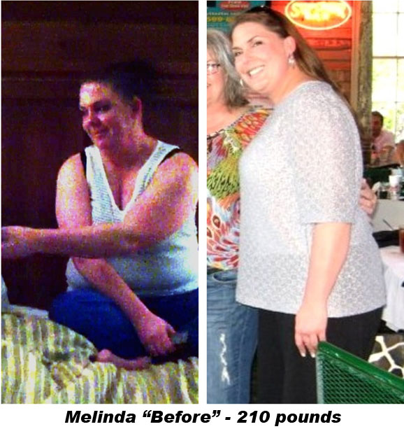 Melinda Allen - Before Picture 210 pounds