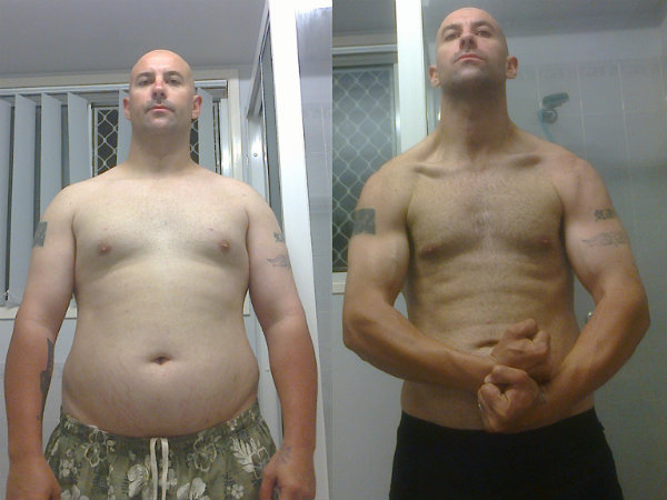 Joe Lewis Before & After Pictures