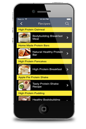 Total Fitness Bodybuilding App Healthy Recipes