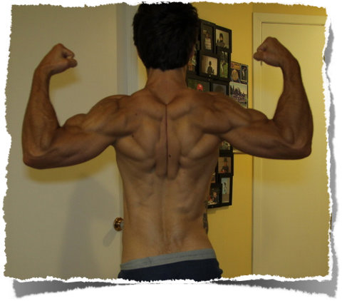 Bruno Martel - Back Double Bicep