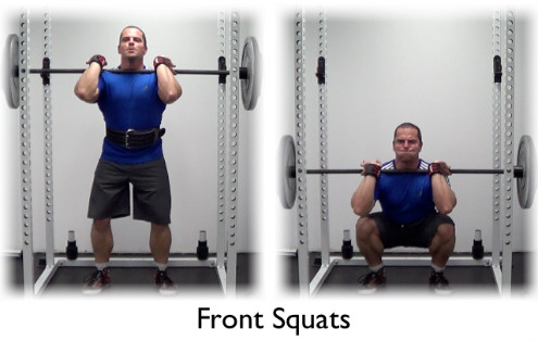 Front Squats - A Must Do Exercise
