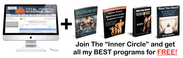 Join The Total Fitness Bodybuilding Inner Circle