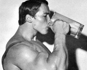 Arnold's Bulking Up Weight Gainer Shake