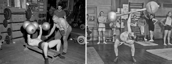 Old School Barbells & Dumbbells