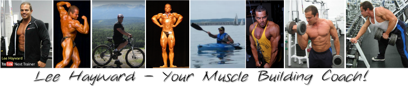 Lee Hayward - Your Muscle Building Coach