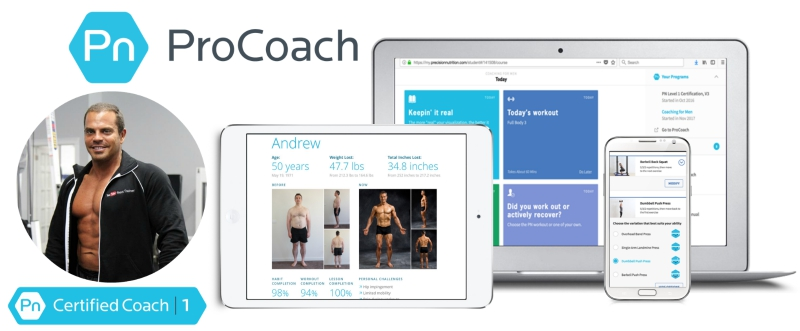 I've Teamed Up With Precision Nutrition ProCoach To Provide You With Elite Level Coaching