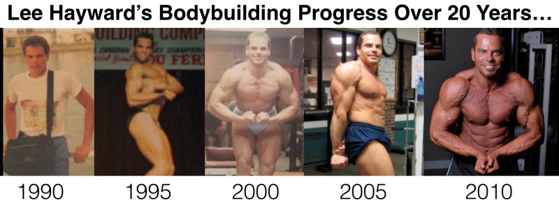 Lee Hayward's 20 year bodybuilding transformation