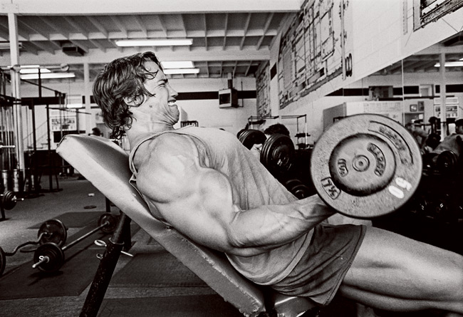 Arnold Incline Dumbbell Curl