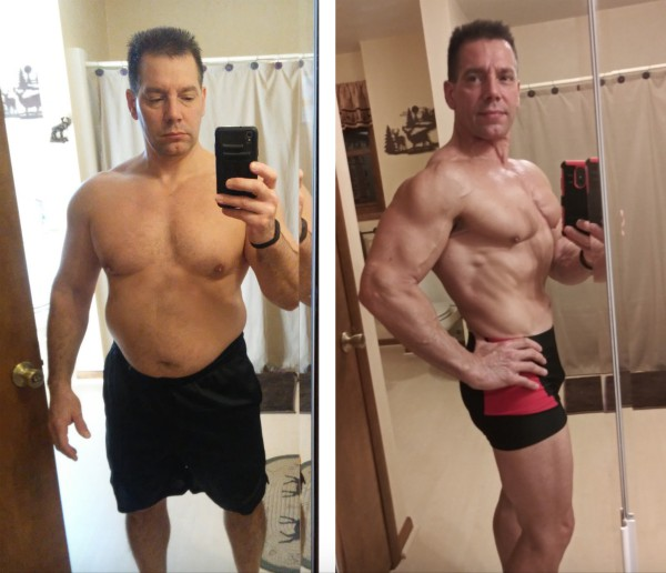 Kevin Falcone Before & After Progress Pictures