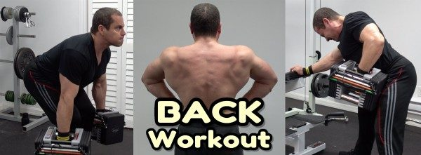 Home Gym Back Workout