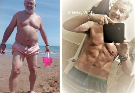 Trevor Lost 74 Pounds and Got 6-Pack Abs at Age 58