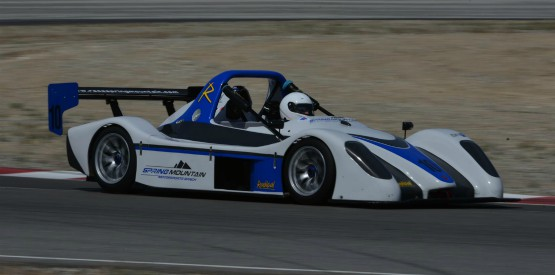 Lee Hayward Radical Race Car