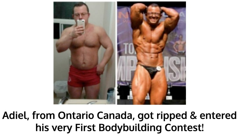 Adiel Got Ripped and Entered A Bodybuilding Contest