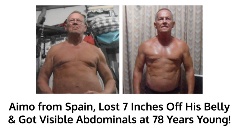 Aimo got ripped at 78 years old