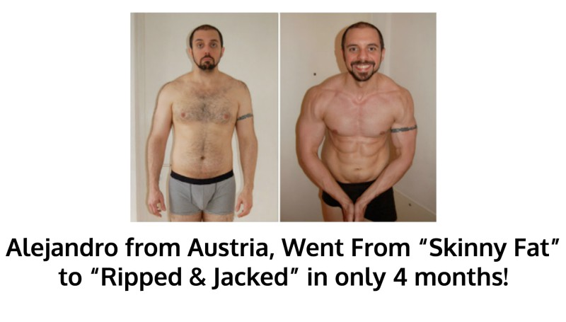 Alejandro Got Ripped in 4 months