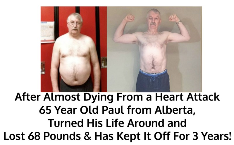 Paul lost 68 pounds!