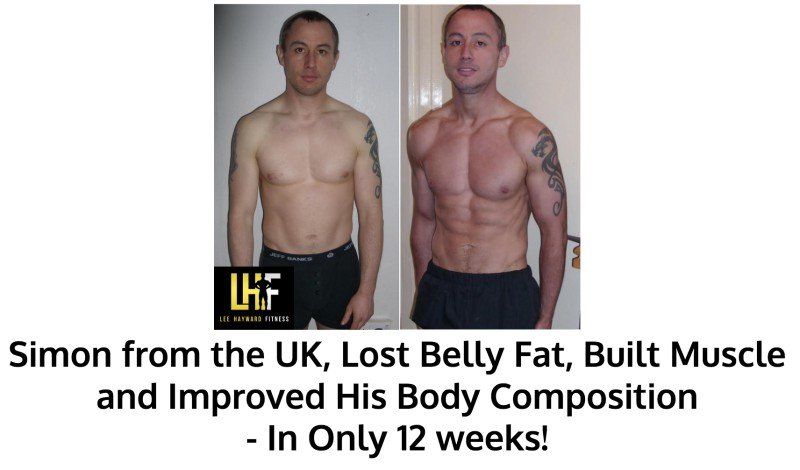 Simon Got Ripped in 12 weeks
