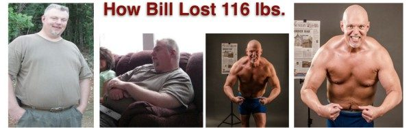 How Bill Lost 116 pounds