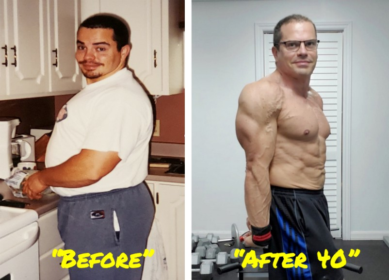 Lee Hayward Ripped After 40 Transformation