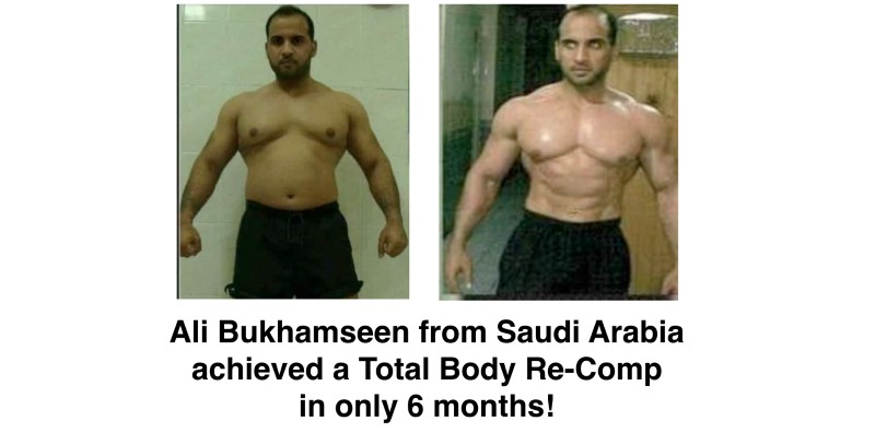Ali Achieved a Total Body Re-Comp in only 6 months!